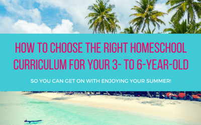 Choosing the right homeschool curriculum
