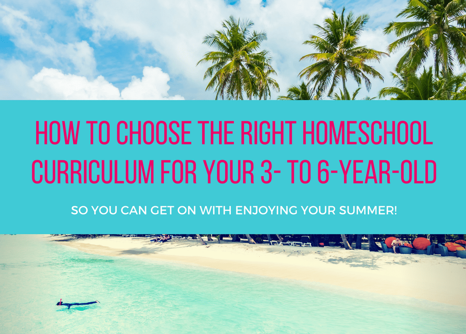 Choosing the right homeschool curriculum