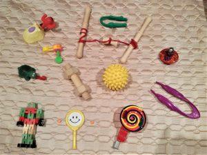 Finger Gym toys examples for fine motor skill development